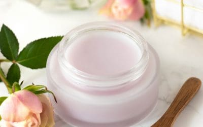 DIY Rose Cleansing Balm