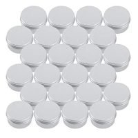 Round Lip Balm Tin Container