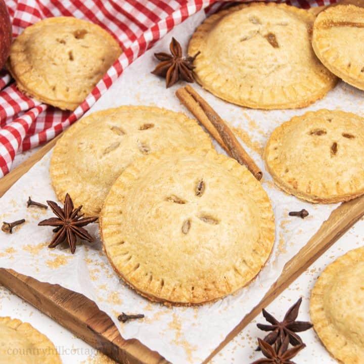 Apple Hand Pies Easy Vegan Gluten Free Recipe