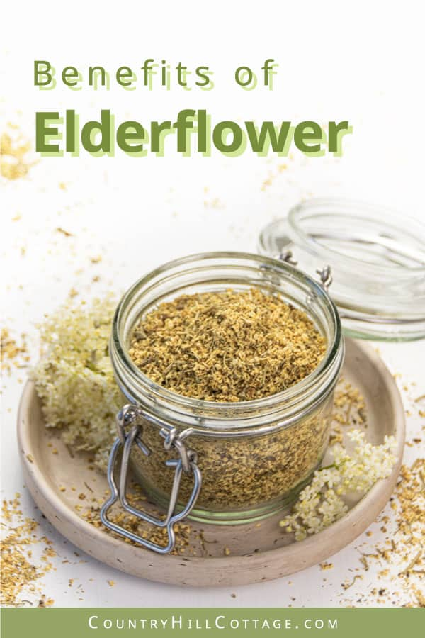 Benefits of elderflower for skin care