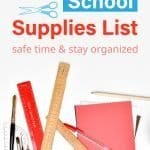 Prep your children with all essential back to school supplies. Use this handy list of products and ideas to buy all the school necessities for kids and for teens. Included are useful shopping tips and items like cute backpacks, organization notebooks & fun stationery. Perfect for kindergarten, elementary, middle school, high school, college or even university. Tab to download the free printable checklist! #school #organization #printable #freeprintables #organization | countryhillcottage.com