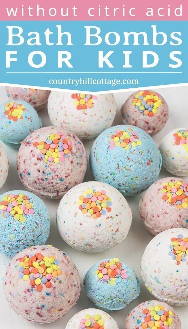 Homemade Bath Bombs Without Citric Acid Bath Bomb Recipe For Kids