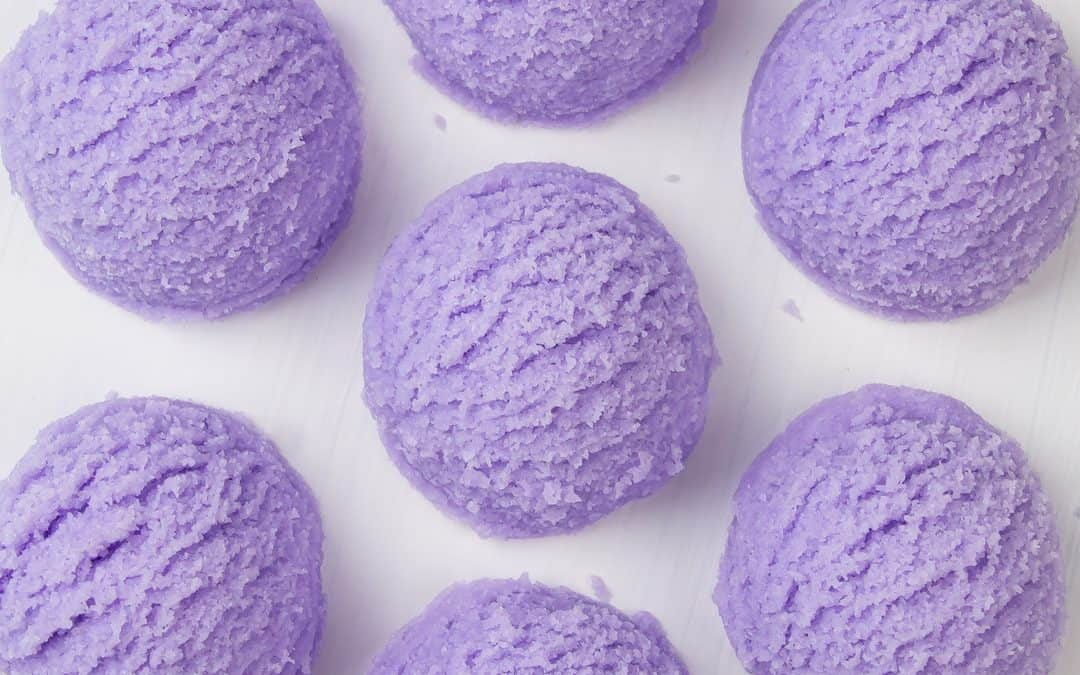 DIY Lavender Bubble Bath Bar Scoops – Bubbling Bath Truffle Recipe
