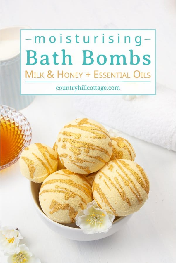 Diy Moisturising Bath Bombs Recipe Homemade Milk Honey