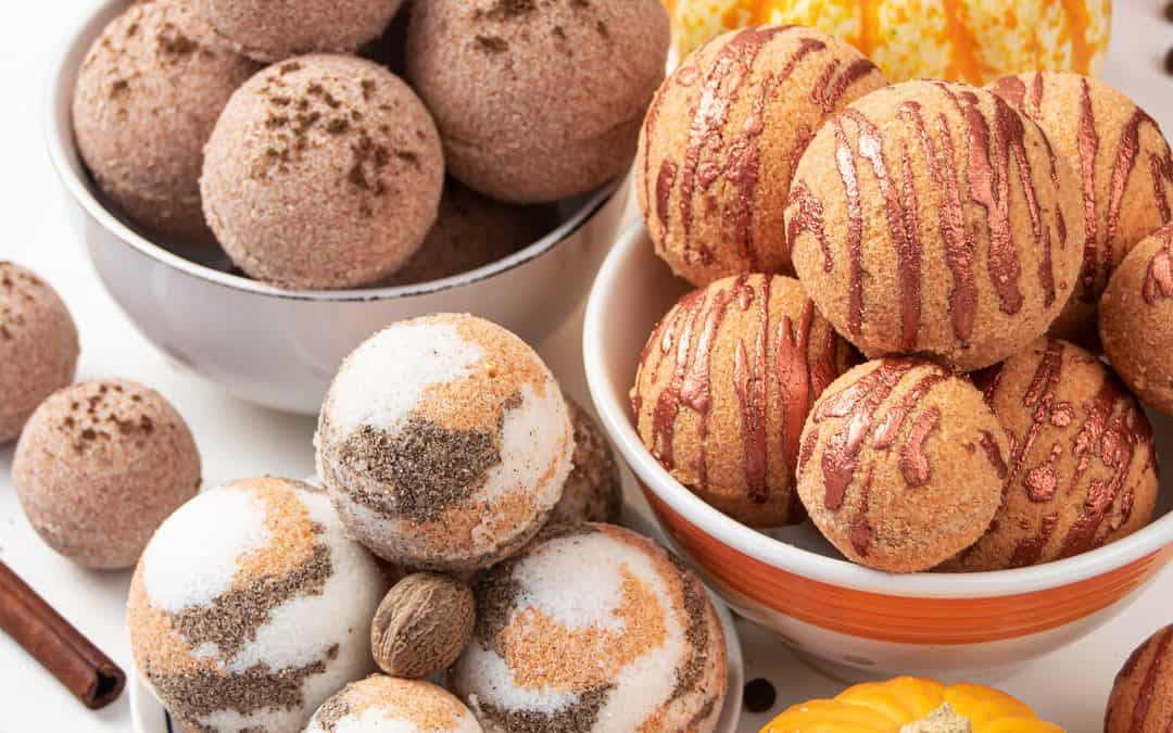 DIY Pumpkin Spice Bath Bombs – 3 Fall Homemade Bath Bomb Recipes