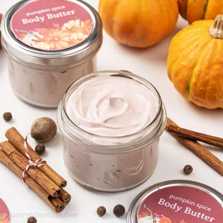 DIY Whipped Pumpkin Spice Bod Butter – Non-Greasy Body Butter Recipe