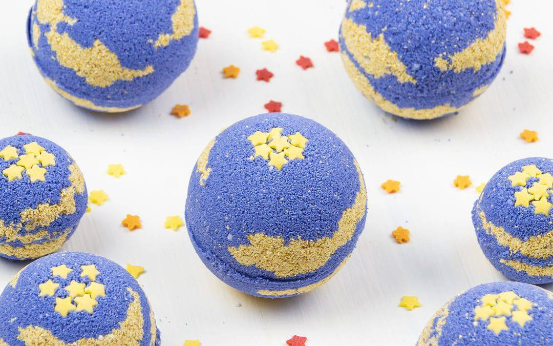 DIY Foaming Bath Bombs with Shea Butter – Aromatherapy Bath Bombs for Sleep & Relaxation