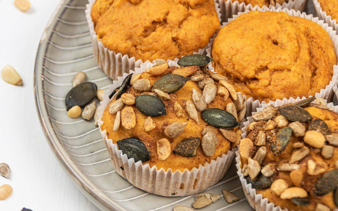 Easy Healthy Pumpkin Muffins Recipe – Vegan & Gluten Free