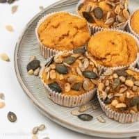 Easy Healthy Pumpkin Muffins Recipe – Vegan & Gluten Free
