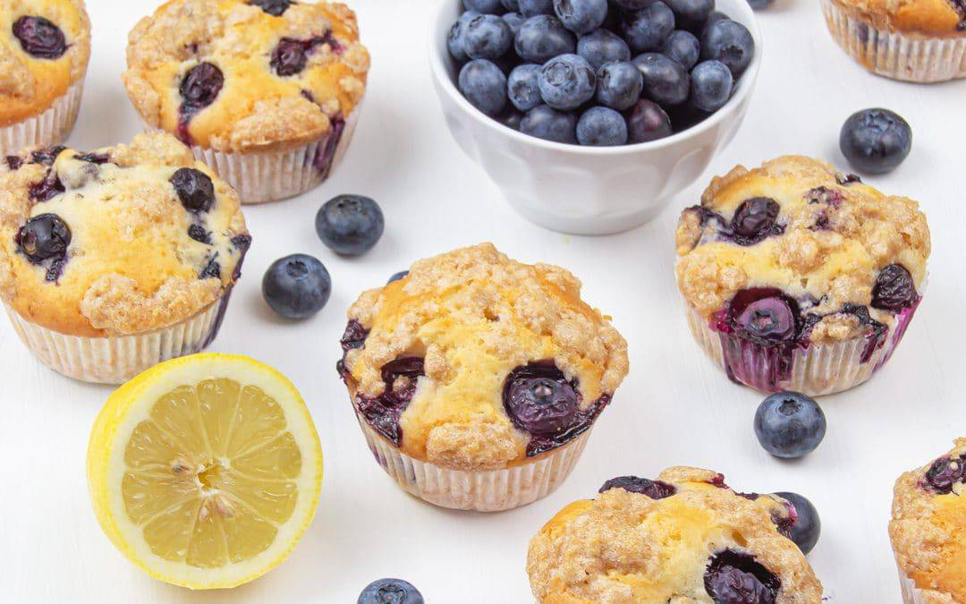 Healthy Blueberry Muffins – Vegan Gluten Free Muffin Recipe