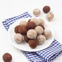 Healthy Vegan No Bake Energy Balls