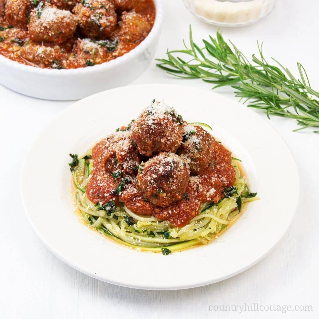Keto Meatballs Italian Slow Cooker Meatball Recipe Low Crab Gluten Free