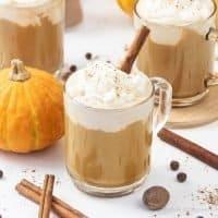 Vegan Keto Pumpkin Spice Latte Recipe – Healthy Dairy-Free Low-Carb Latte