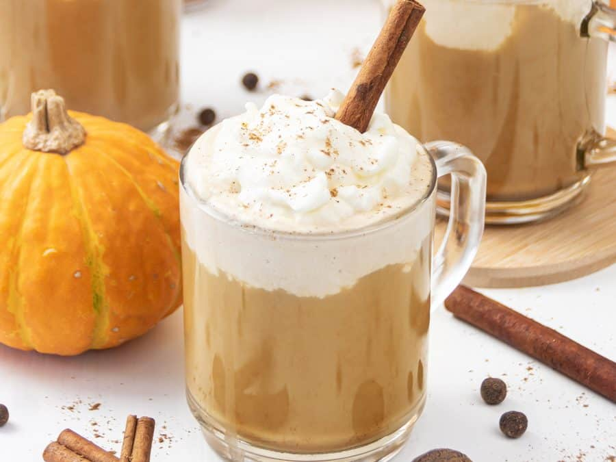 Vegan Keto Pumpkin Spice Latte Recipe – Healthy Dairy-Free Latte