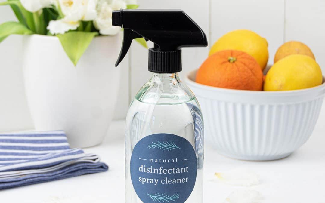 DIY Disinfectant Spray – Natural Homemade Disinfecting Spray