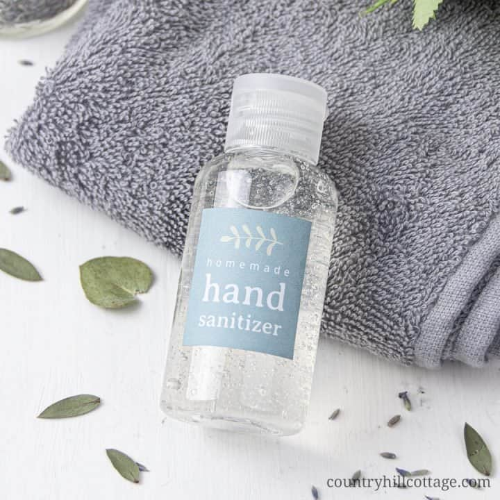 DIY Hand Sanitizer Gel – How to Make Your Own Hand Sanitizer
