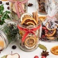 Stovetop Potpourri Gift Ideas – 6 Christmas Potpourri in a Jar Recipes