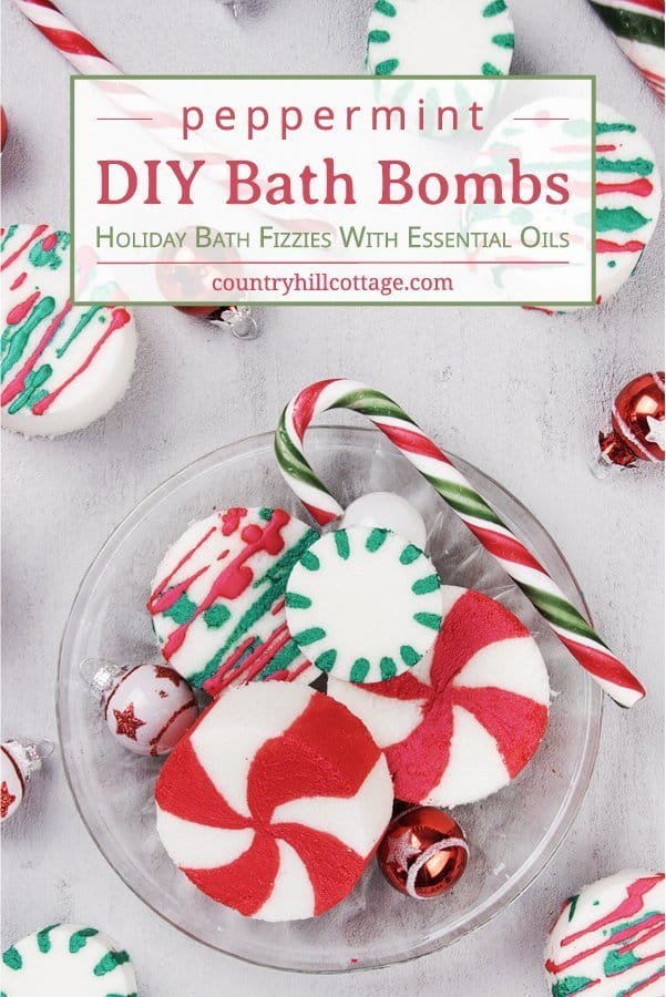 Diy Peppermint Bath Bombs Christmas Candy Cane Bath Bombs