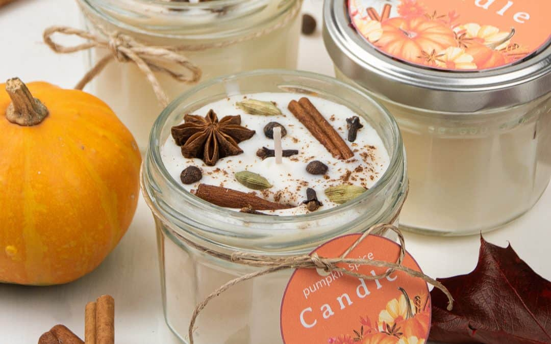 DIY Pumpkin Spice Candles – Fall Candles Recipe with Essentials Oils
