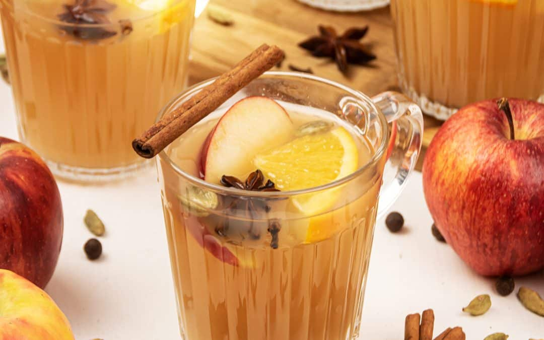 Mulled Apple Cider – Easy Homemade Apple Cider Recipe