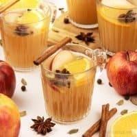Mulled Apple Cider - Easy Homemade Hot Spiced Apple Cider Recipe