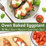 Healthy eggplant recipe for dinner