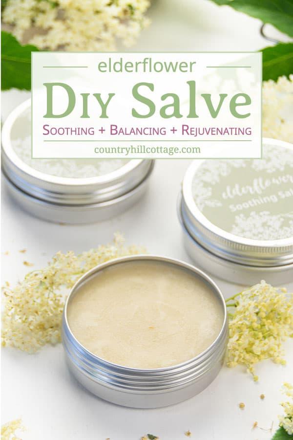 DIY Elderflower Slave Recipe for Glowing Skin
