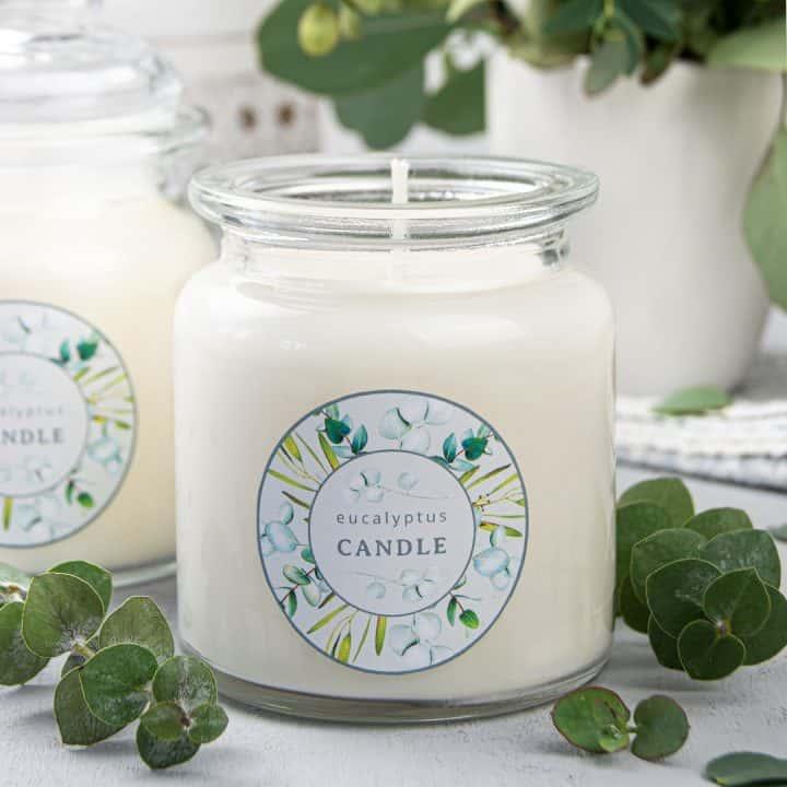 Eucalyptus Candle DIY Aromatherapy Candles Tutorial