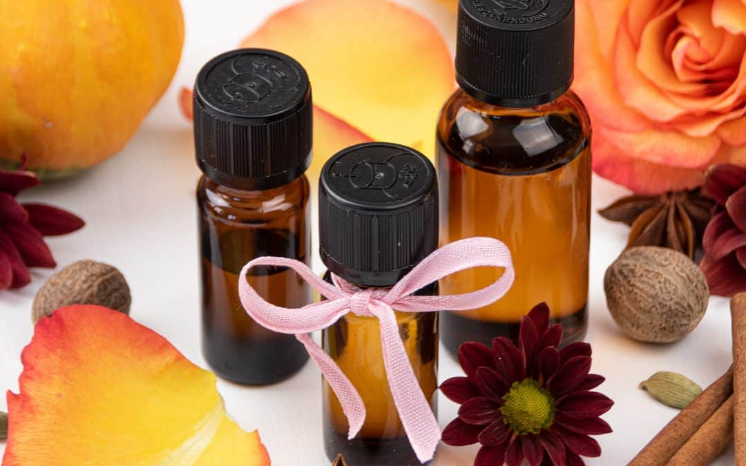 Floral Autumn Diffuser Blends and a DIY Reed Diffuser for Fall