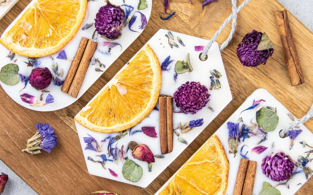 DIY Scented Wax Sachets with Soy Wax, Botanicals & Essential Oils