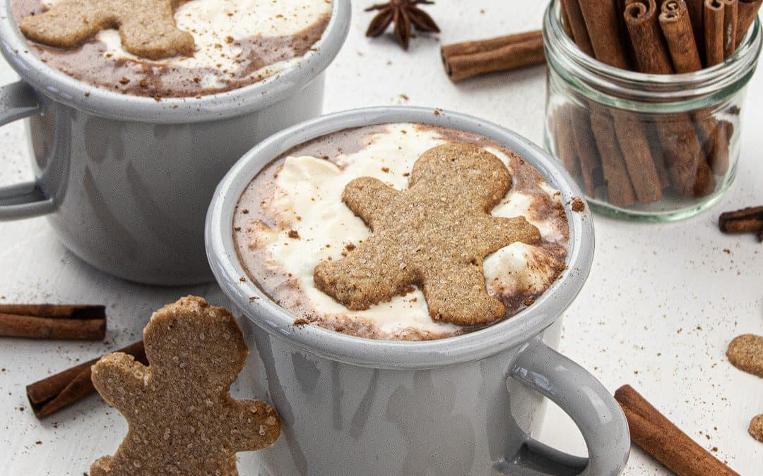 Gingerbread Hot Chocolate – Christmas Hot Chocolate Recipe