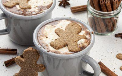 Gingerbread Hot Chocolate – Christmas Hot Chocolate Recipe