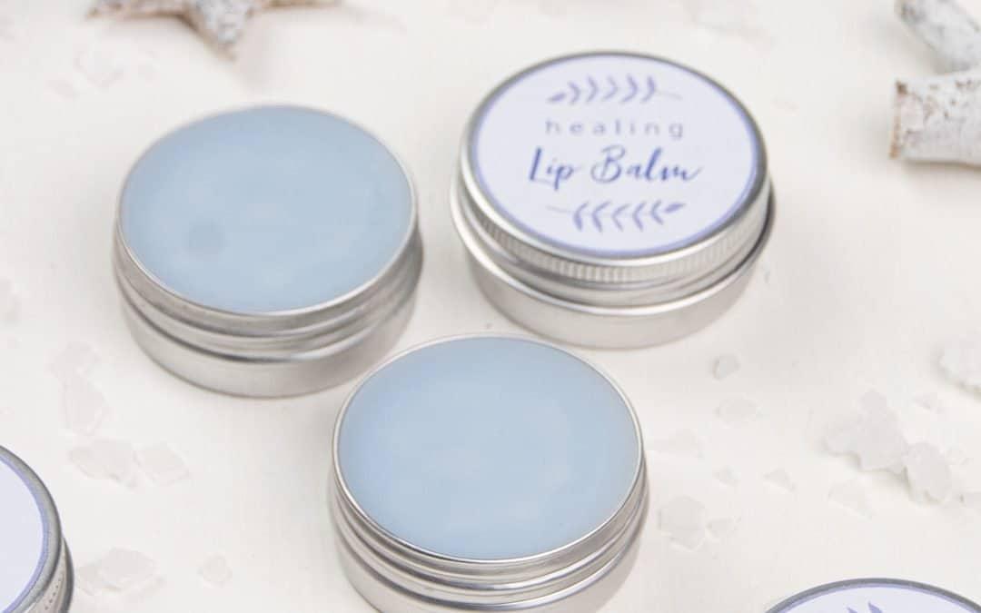 DIY Healing Lip Balm Recipe for Dry, Chapped Lips