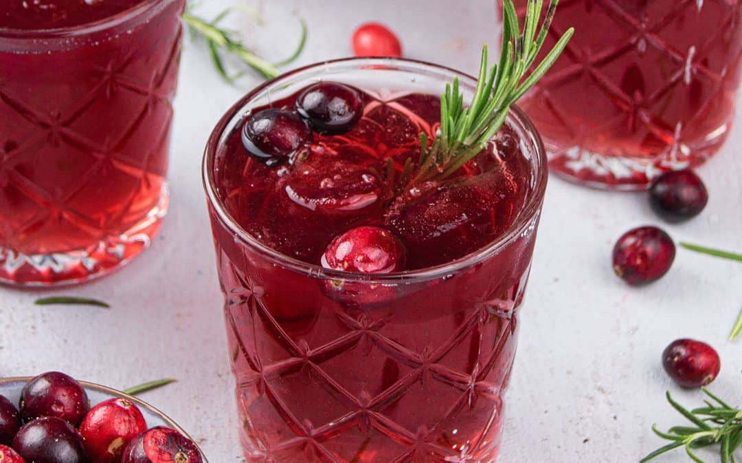 Cranberry Mocktail – Non-Alcoholic Cranberry Cocktail