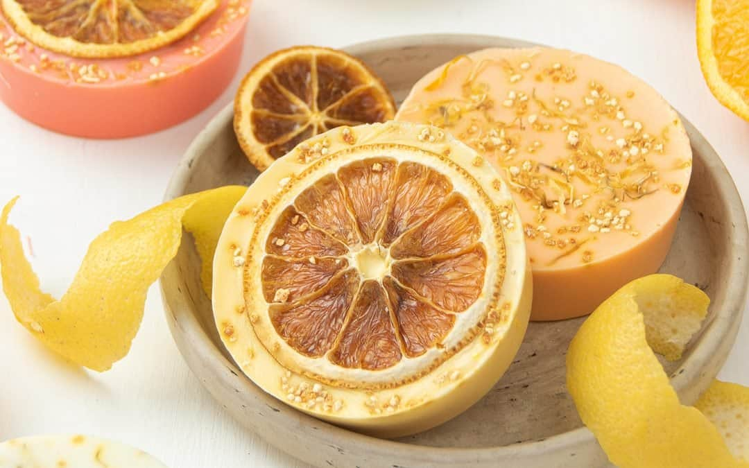 Citrus Soap Recipe (Easy Homemade Melt and Pour Soap)