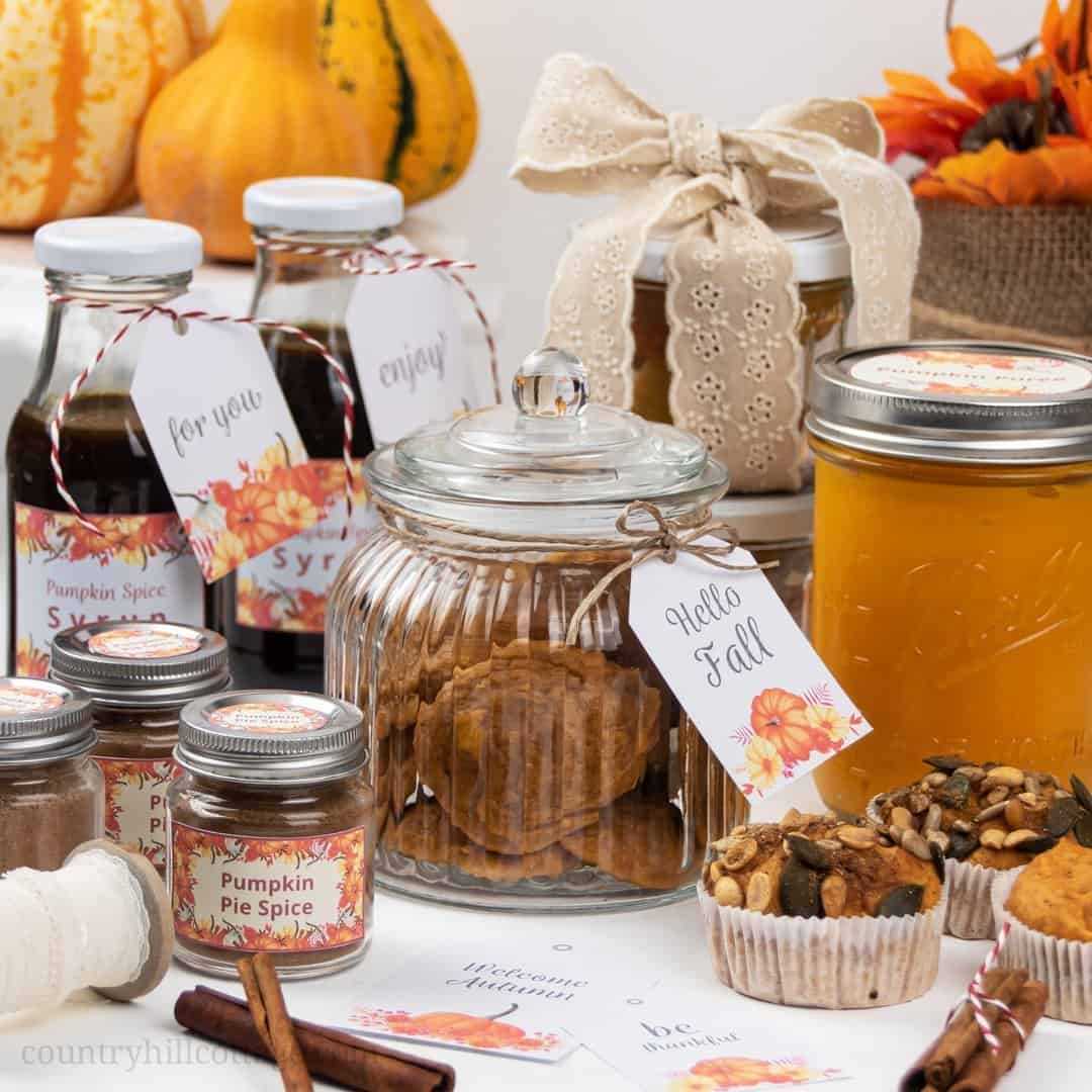 Fall Food Gift Ideas For An Easy Diy Fall Gift Basket
