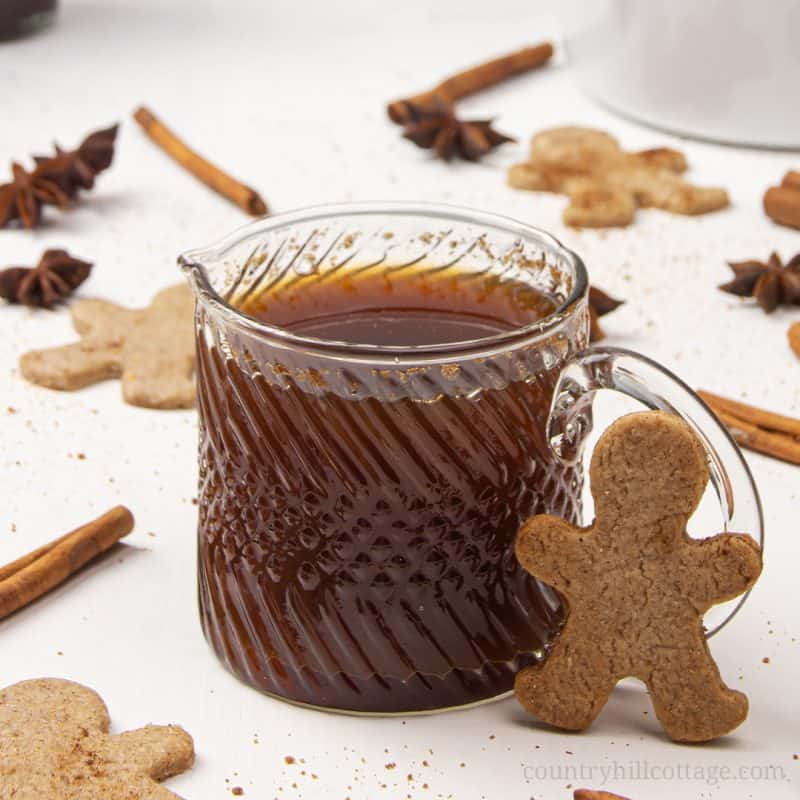 Gingerbread Syrup Easy Homemade Holiday Food Gift