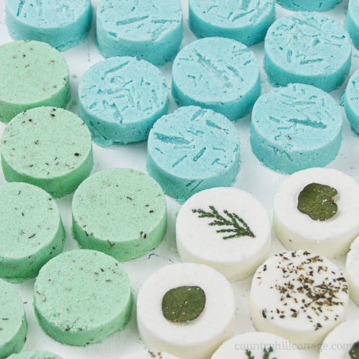 DIY Shower Melts for Health and Wellness