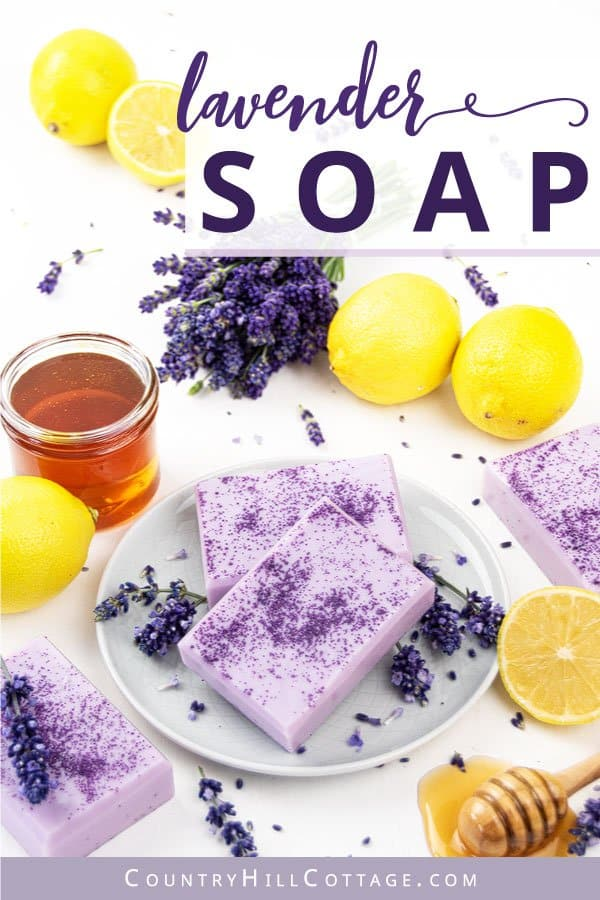 Honey lavender soap recipe