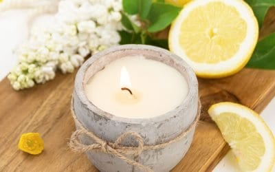 DIY Citronella Candles Recipe To Repel Mosquitoes