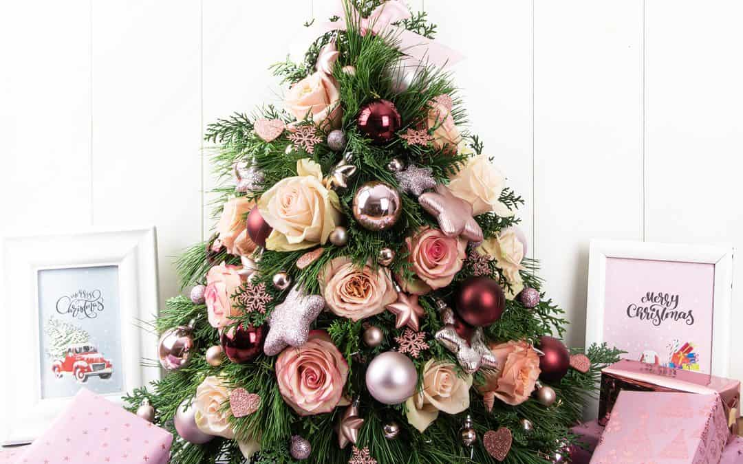 Christmas Tree Centerpiece Step by Step Tutorial