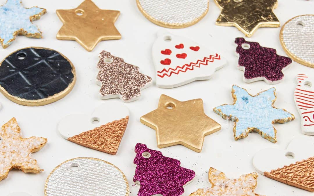 Clay Christmas Ornaments – How to Make Clay Ornaments