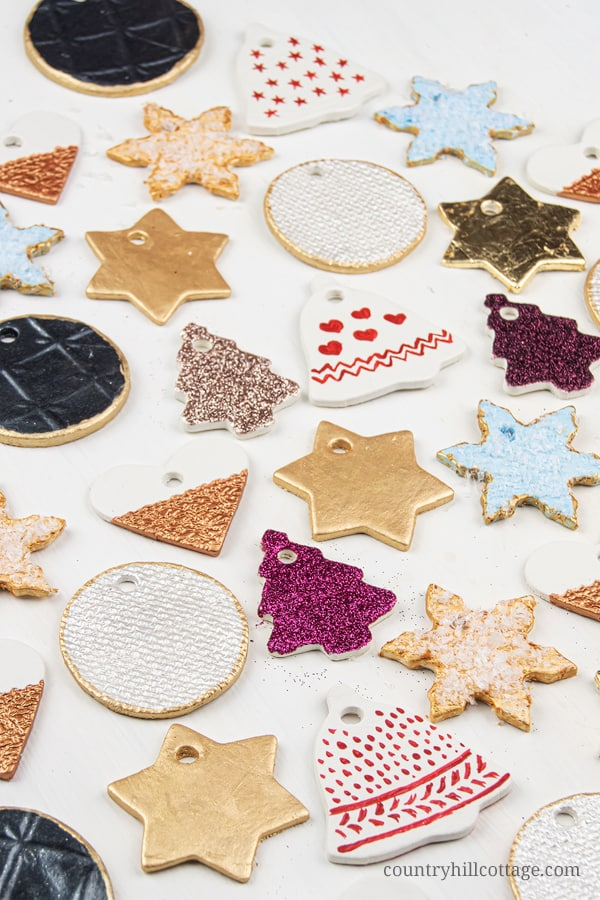 Clay Christmas Ornaments - How to Make