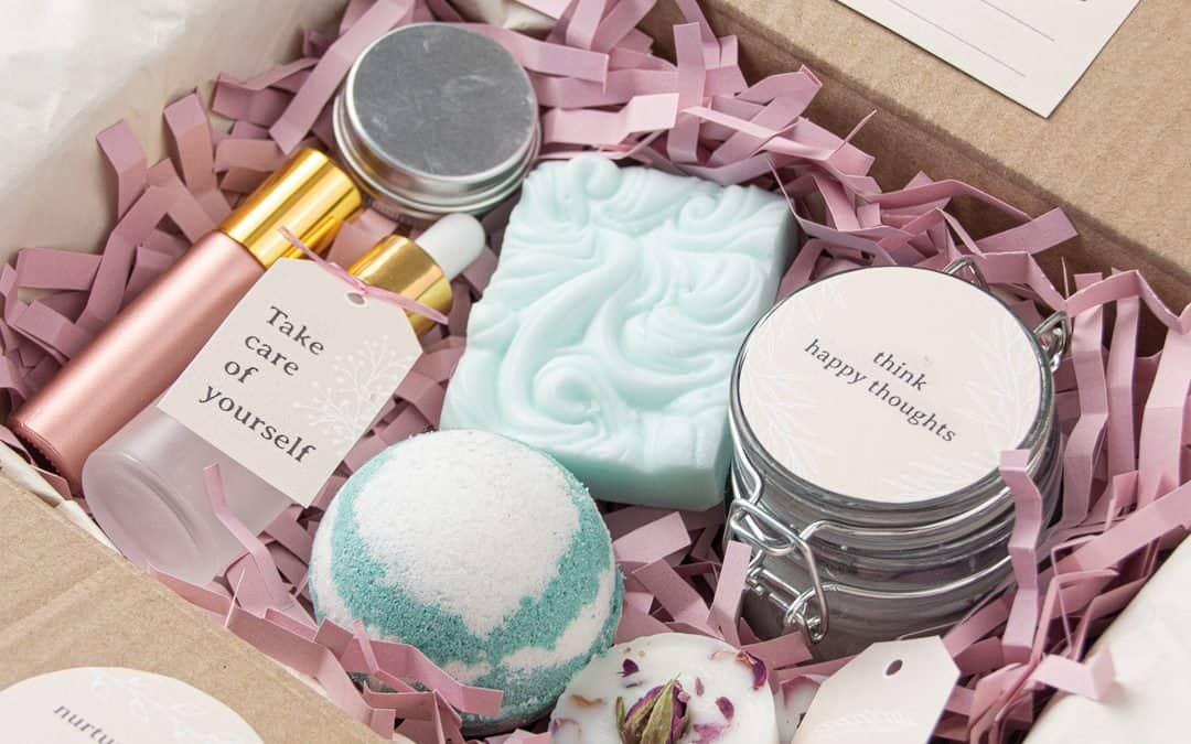 Self Care Package Ideas + Free Printable Labels & Gift Tags
