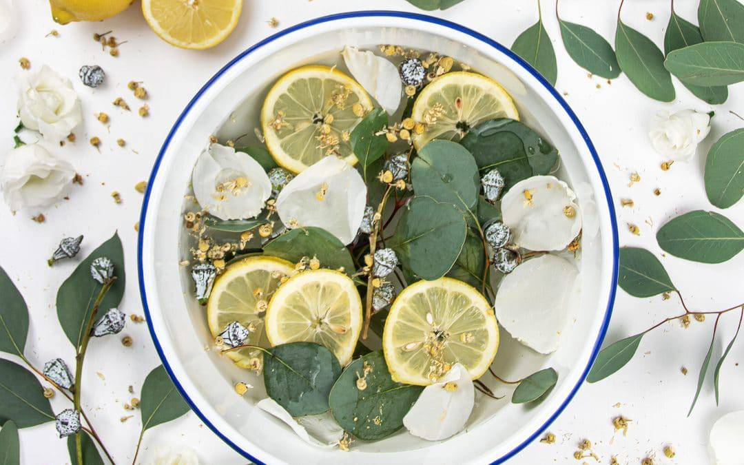 Stovetop Air Freshener with Eucalyptus and Lemon