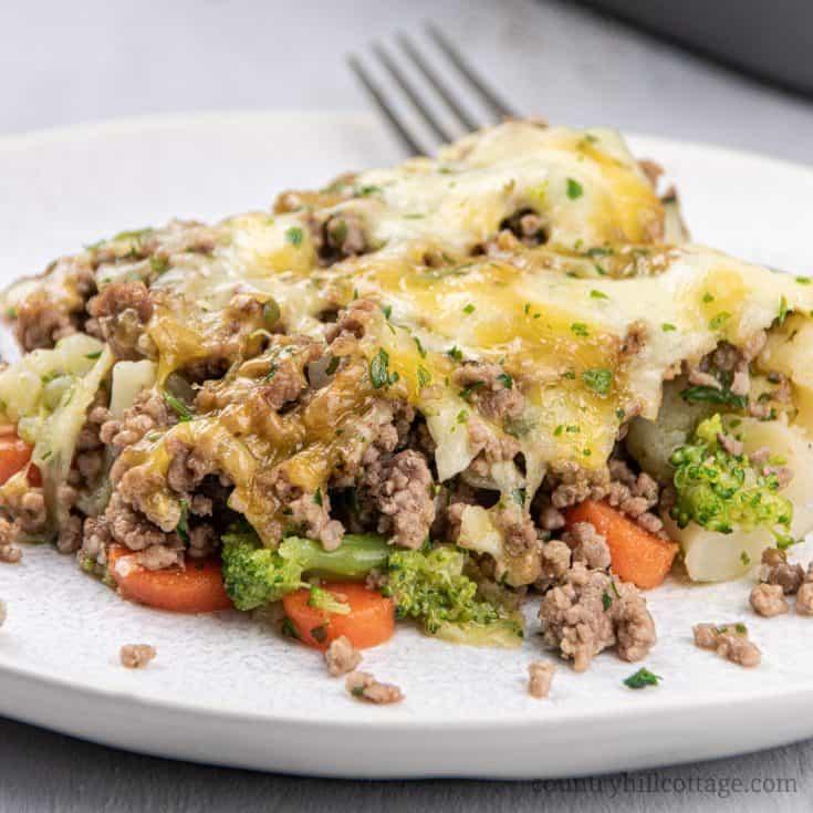 Keto Ground Beef Casserole Recipe