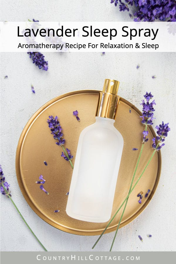 Lavender Sleep Spray Aromatherapy Recipe