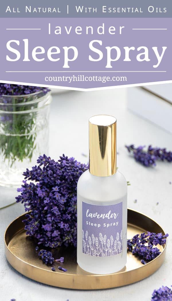 Lavender Sleep Spray Relaxing Slumber Spray Recipe