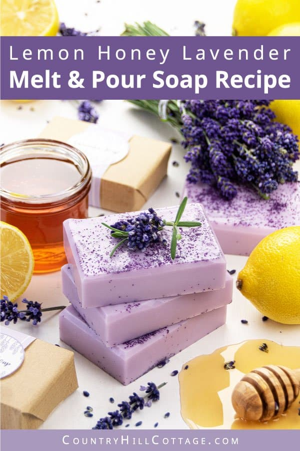 Lavender soap making tutorial