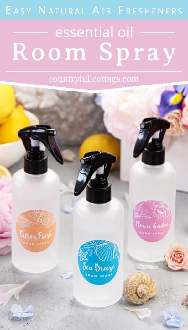 Homemade Room Spray With Essential Oils